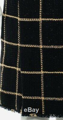 $5020 CHANEL 09A Tweed Gold Boucle Dress 38 40 42 6 8 10 Bag Top Skirt Suit Swim