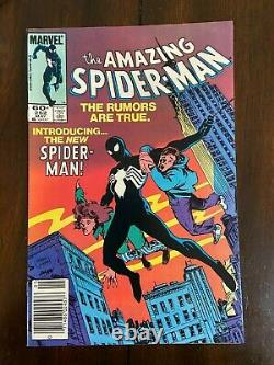 Amazing Spider-Man #252 1st Appearance of Black Suit 1984 HIGH GRADE VF/NM