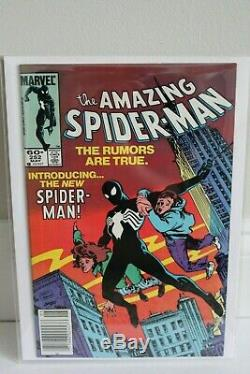 Amazing Spider-Man 252 1st Black Suit 2 Copies Key Issue Very High Grade