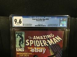 Amazing Spider-Man #252 CGC 9.6 (White Pages) 1st appearance of black suit KEY