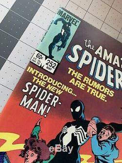 Amazing Spider-Man #252 Marvel 1984 Copper Age 1st Black Suit News Stand
