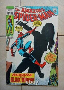 Amazing Spider-Man #86 (1970), Debut of Black Widow's Skin-Tight Suit