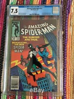 Amazing Spider-Man CGC 7.5 1st Black Suit/Amazing Fantasy 15 Homage/White Pages