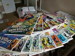 Amazing Spider-Man Lot #246-303 (26 Comics Total) with KEYS Black Suit, McFarlane