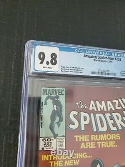 Amazing Spider-man #252 Cgc 9.8 Wp 1st Black Suit- First Appearance Of Sibiote