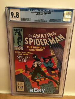 Amazing Spider-man 252 Newsstand Cgc 9.8 1st Appearance Of Black Suit