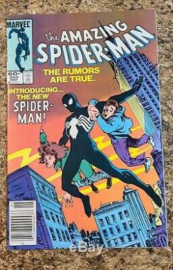 Amazing Spiderman 252 First Black Suit (VF)