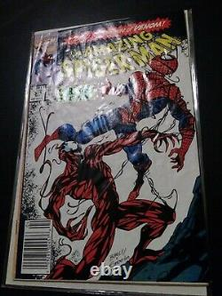 Amazing Spiderman 252 and 361 First Appearance Carnage and Black Suit Newsstands