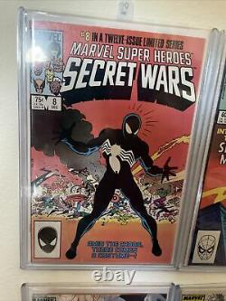Amazing spiderman 300 252 And The Rest Of Them. Lot! First Black Symbiote Suit