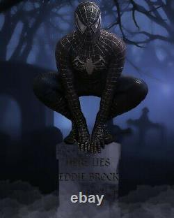 Black suited Spiderman Cosplay Costume (spiderman 3 and comic design merged)