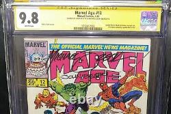 CGC SS 9.8 Marvel Age 12 1st Black Suit & ASM 50 1st Time Black/Red Suit Used