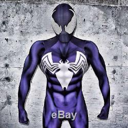 Caje4091 Shattered Dimensions Symbiote Spider-man 3 D Printing Costume