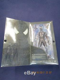 DD5 Medicom Real Action Heroes Marvel Comics 12 BLACK SUITED SPIDER MAN 3 SUIT