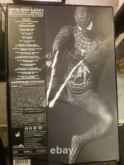 HOT TOYS SPIDERMAN 3 Black Suit. With SANDMAN DISPLAY Normal Edition, Complete