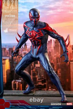 HOT TOYS Spider-Man 2099 Black Suit 1/6 Scale Figure MINT NEW IN BOX
