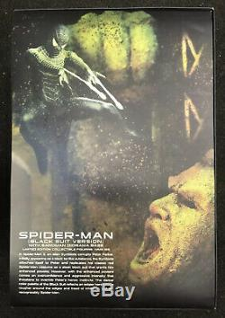 Hot Toys MMS 1/6Th Scale Spiderman Spider-Man 3 (Black Suit Version) Normal Ver