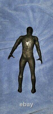Hot Toys MMS 165 Spiderman Spider-Man 3 (Black Suit Version) deluxe version