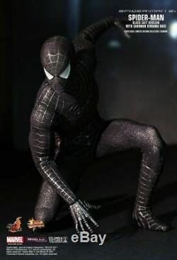 Hot Toys MMS165 Spiderman Spider-Man 3 Black Suit Version Normal Ver 16 Figure