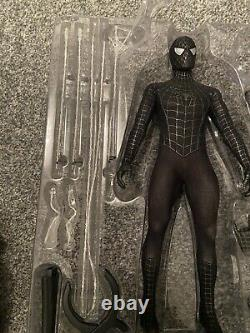 Hot Toys Marvel Spider-Man 3 Black Suit Version MMS165 Special Edition 1/6 Scale