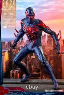 Hot Toys Marvels Spider-Man 2099 VGM42 Black Suit 1/6 Exclusive In Hand