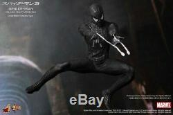 Hot Toys Mms 1/6Th Scale Spiderman Spider-Man 3 Black Suit Version Normal Ver