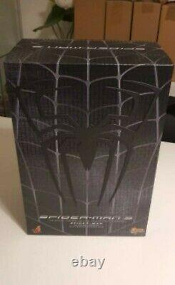 Hot Toys Mms 165 Spiderman 3 Black Suit