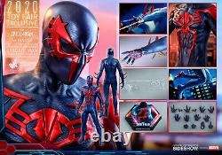 Hot Toys Sideshow Exclusive VGM42 Spiderman Spider-Man 2099 Black Suit SHIPPER