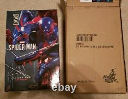 Hot Toys Spider-Man 2099 VGM42 Marvel Sixth Scale Action Figure Black Suit