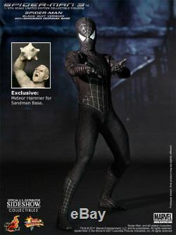 Hot Toys Spider-Man 3, Black Suit Exclusive, 1/6 Scale 12 Figure US Seller