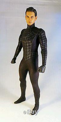 Hot Toys Spider-Man 3 Black Suit Version with Sandman 1/6 Scale Figure
