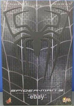 Hot Toys Spider Man 3 Limited Black Suit Figure withSandman Diorama Base MMS165