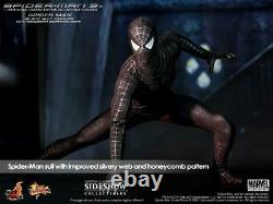 Hot Toys Spiderman 3 Black Suit With Diorama EXCLUSIVE mms165