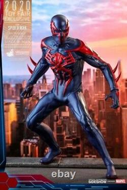 Hot Toys Spiderman Spider-Man 2099 Black Suit Toy Fair Sideshow Exclusive VGM42