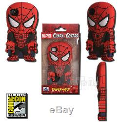 Marvel Chara-Cover Spider-Man iPhone 4/4S Cell Phone Case Black Suit 2013 SDCC