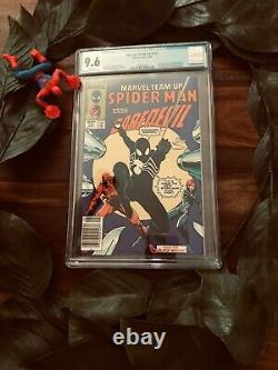 Marvel Team-Up #141 CGC 9.6 WHITE PAGES FIRST BLACK SUIT NEWSSTAND