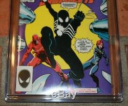 Marvel Team Up 141 CGC 9.8 White 1st First Appearance Black Suit Spider-Man 252
