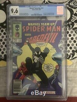 Marvel Team-Up #141 Spider-Man 1st Appearance Black Suit Newsstand CGC 9.6