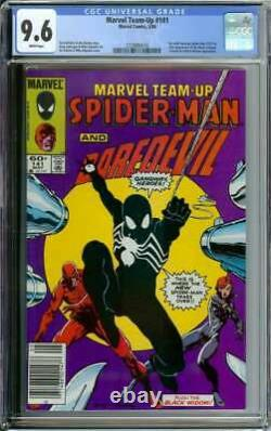 Marvel Team-up #141 Cgc 9.6 White Pages // Tied For 1st Black Suit