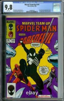 Marvel Team-up #141 Cgc 9.8 White Pages // Tied For 1st Black Suit 1984