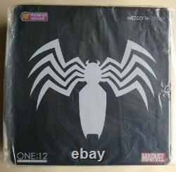 Mezco One12 Spider-Man Black Suit PX New and Sealed