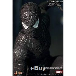 Movie Masterpiece Spider-Man 3 Hot Toys Black Suit Version Hot Toys