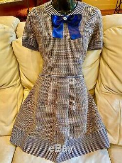 NEW 5.2k CHANEL 2018 Tweed Boucle Bow Sweater Dress 38 40 42 6 8 10 Suit Top 18a
