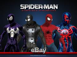 New Shattered Dimensions Symbiote Spiderman 3D Printing/Muscle shading Costume