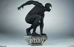 Sideshow Spider-Man Black Suit Variant Legendary Scale Figure Limited to 100 NIB