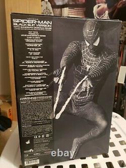 Sideshow Spiderman 3 Black Suit With Sandman Base Exclusive Limited Edition
