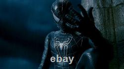Spider-Man 3 2007 possibly SCREEN USED BLACK SUIT VENOM EYE FRAME TOBEY MAGUIRE