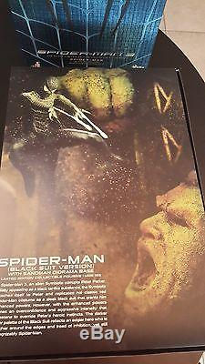 Spider-Man Black Suit Version Hot Toy Limited Edition USA SELLER MMS 165