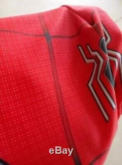 Spider-Man Far From Home Cosplay Costume Spiderman Suit Avengers US shipping