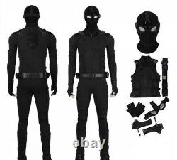 Spider-Man Far From Home Spiderman Stealth Suit Cosplay Men Suit Large