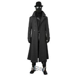 Spider-Man Into the Spider-Verse Noir Black Suit Cosplay Costume Custom Made